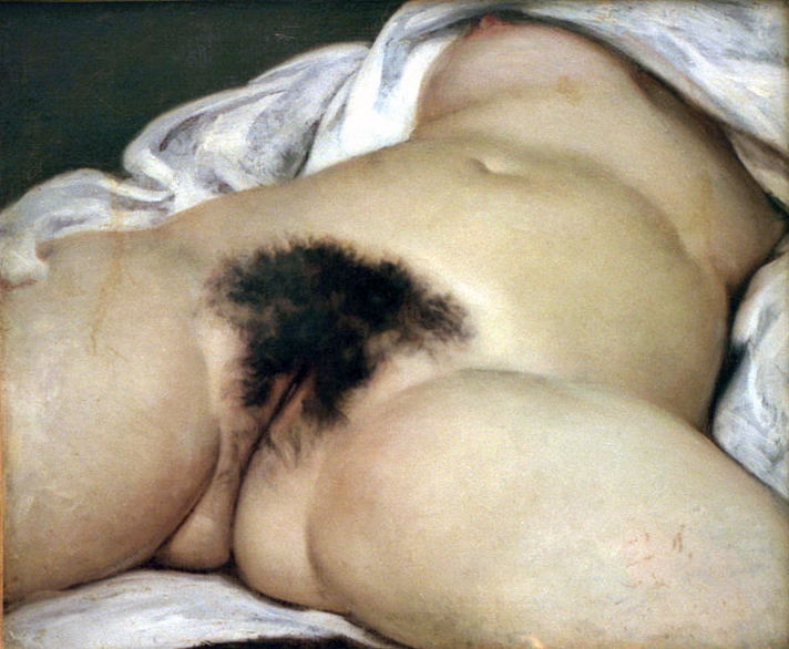 courbet painting vagina